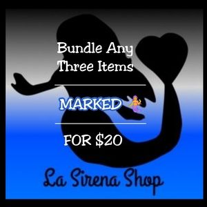 🧜‍♀️3 Items for $20🧜‍♀️